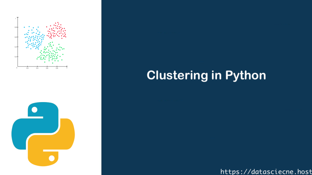 Clustering in Python